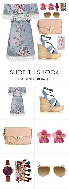 """""""Let's go to a festival"""" by unitaiyo ❤ liked on Polyvore featuring WearAll, Yves Saint Laurent and Jessica Carlyle"""