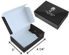 Designer Cake Boxes Black