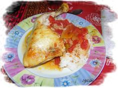 poulet tomates curry