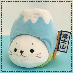 Shirotan White Seal Transformed Into A Fuji Stuffed Animals 38cm from Japan | eBay