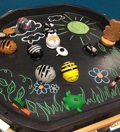 ICT in the tuff spot bee bot Eyfs Activities, Indoor Activities For Kids, Spring Activities, Infant Activities, Nursery Activities, Steam Activities, Preschool Ideas, Classroom Activities, Family Activities