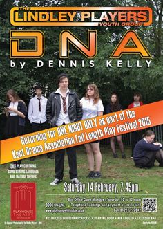 So many great new shows this week and in the New Year - including DNA by our Youth Group!  http://evpo.st/1wi3Ma8