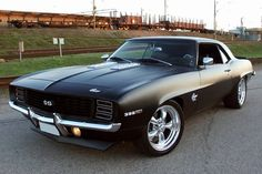 1969 Camaro SS - Matte Black - She will be mine