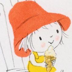 """""""Jane Massey Illustrations"""" stickers set for Telegram - Sunny quotes - """"Jane Massey Illustrations"""" stickers set for Telegram - Art Drawings For Kids, Doodle Drawings, Drawing For Kids, Doodle Art, Cute Drawings, Simple Doodles, Cute Doodles, Childhood Images, Planner Doodles"""