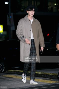 South Korean actor Lee Jong-Suk attends the photocall for 'Golden Goose Deluxe Brand' 15th Anniversary Launch on October 19, 2016 in Seoul, South Korea.