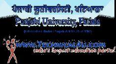 Punjabi University Result 2014 BA, B.Com in punjabiuniversity.ac.in