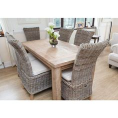 Reclaimed Teak Taplock Dining Table 1.6m