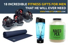 18 Useful Fitness Gifts For Men That He Will Ever Need
