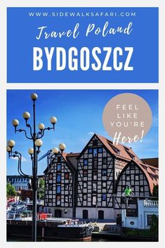 Learn about things to do in Bydgoszcz on a one day itinerary. #Bydgoszcz #Poland #TravelPoland Town Hall 4, Weekend City Breaks, Visit Poland, European City Breaks, Road Trip Europe, Poland Travel, Old Town Square, Travel Around Europe, Medieval Town