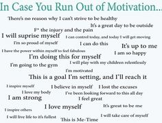 Monday: In Case You Run Out of Motivation If youre lacking in motivation right now glance at this. Go out there and get fit!If youre lacking in motivation right now glance at this. Go out there and get fit! Motivation Pictures, Sport Motivation, Motivation Business, Fitness Motivation, Fitness Quotes, Weight Loss Motivation, Monday Motivation, Motivation Inspiration, Fitness Tips