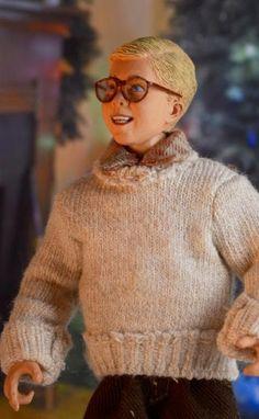 "A CHRISTMAS STORY - 8"" SCALE CLOTHED FIGURE - RALPHIE PARKER"