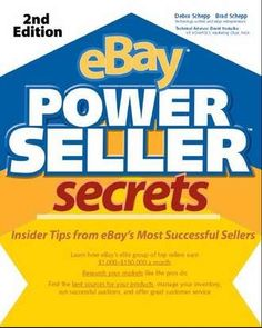 eBay PowerSeller Secrets, 2nd edition, $10.99