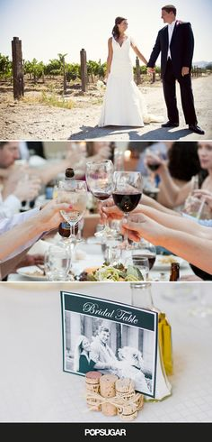 If you think a vineyard wedding sounds like nuptial bliss, you're not alone! Wine-country weddings are a growing trend, and it's not difficult to understand why: they're the perfect balance of rustic and romantic. If you're planning the ultimate vineyard wedding or dreaming of one, allow these go-to tips to be your guide.