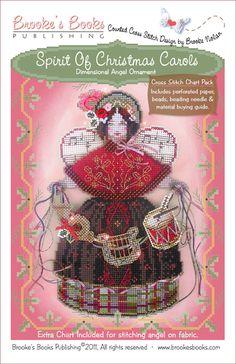 Brooke's Books - Spirit of Christmas Carols - Cross Stitch Chart Pack