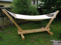 Wooden Hammock Stand, Hammock Frame, Garden Hammock, Diy Hammock, Woodworking Enthusiasts, Wood Pallet Furniture, Backyard Playground, Diy Patio, Diy Wood Projects