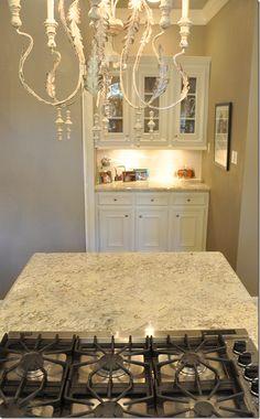 Pretty granite (Bianco Romano from Brazil).