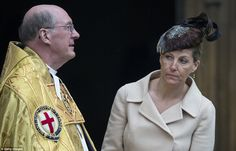 Sophie, Countess of Wessex and Dean of Windsor, The Right Reverend David Conner arrive for... http://dailym.ai/1iB6C1A#i-aa0e0e79