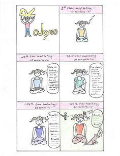 ReJoyce Yoga Cartoon about meditation: http://rejoyceyogablog.blogspot.com/2013/09/rejoyce-yoga-cartoon-meditation.html