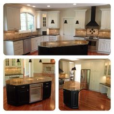 Another few shots from a recent Country Club kitchen.