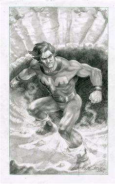 Ultra Boy of the Legion of Super-Heroes by Rags Morales #UltraBoy #JoNah #Rimbor #LoSH #LegionofSuperHeroes #RagsMorales