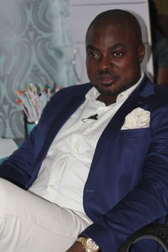 Host, Femi Ipadeola during the interview
