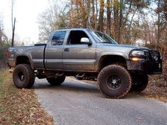 lifted 2000 Chevy Z71. I'd only own it if it had a manual, but still pretty nonetheless :) SF