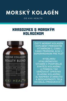Hydrolyzovaný kolagén v spojení s vitamínom C a kyselinou hyalurónovou. Lepšiu kombináciu nevymyslíš! Whiskey Bottle, Drinks, Health, Food, Drinking, Beverages, Salud, Meal, Health Care