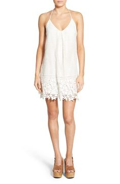 ASTR 'Tiny Dancer' Lace Shift Dress available at #Nordstrom