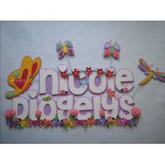 Banners (letreros) En Foami 3d Frames, Butterfly Crafts, Baby Party, Party Themes, Diy, Signs, Banners, Butterflies, Ideas