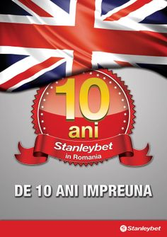 Poster Stanleybet Romania 10 years by Voiculescu Bogdan, via Behance