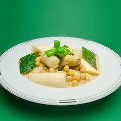 Kokosnuss-Rezepte von Dr. Goerg: Spargel-Curry auf Kokosmilch - 4 Portionen in ca. 45 Minuten - Jetzt kostenlose Rezepte entdecken