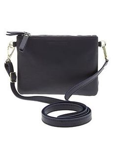 @bananarepublic Republic : #vegan Carla Crossbody purse.