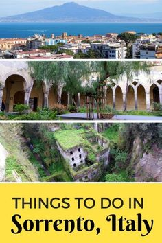 Guide and tips of things to do in Sorrento, Italy. See what families can do in this coastal town full of lemons, history and culture. Italy Travel Tips, Travel And Tourism, Travel Destinations, Holiday Destinations, Backpacking Europe, Places In Italy, Places To Go, Italy Tourism, Italy Vacation