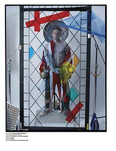 Charlie Hunnam by Tim Walker for VMan #34 Autumn/Winter 2015 :