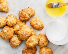 """Says Del Posto pastry chef Brooks Headley of these crisp, buttery-sweet biscuits, """"Serving them hot is all that matters."""""""