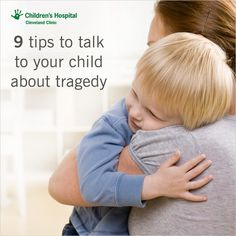 Talking to your kids about tragedy and violence can be difficult. Use these tips to get you through the discussion.