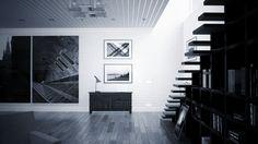 Espacio diáfano para vivienda. Proyecto propio. Render por Icaras. 2012