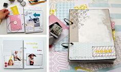 Bastelset - DIY KIT Scrapbooking auf spanisch - ein Designerstück von CrealooStudio bei DaWanda