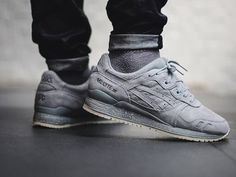 Reigning Champ x Asics Gel Lyte III - Grey - 2016 (by just.iz)