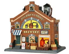 Lemax Village Collection Delaney and Sons Brewery # 35556