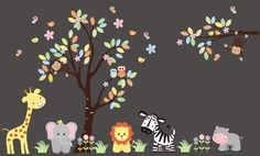 https://www.etsy.com/listing/265179878/safari-and-jungle-wall-decals-childrens?ref=shop_home_active_25 Hello and Welcome!!! We carry over 800 unique nursery wall decals for your child's nursery room theme.  If you were looking for specific themes, we specialize in Safari, Jungle, Forest, Farm and Ocean designs.  All of these decals are completely removable and reusable and are also made from a very HIGH QUALITY material.  (Made in the USA) https://www.etsy.com/shop/NurseryDecals4You $269.95