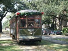 Streetcar decked out