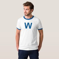 Shop Je Suis Prest - Clan Fraser Crest T-Shirt created by JabWrite. Chicago Cubs Shirts, Chicago Baseball, Gold T Shirts, Tee Shirts, Tees, Fly The W Flag, Freedom Design, Casual Looks, Shirt Style