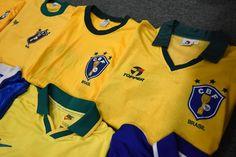 Brazil football shirts collection Football Shirts, Brazil, Polo Shirt, Polo Ralph Lauren, Mens Tops, Collection, Fashion, Football Jerseys, Moda