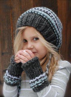 36f397e8d91 Jersey Cap Mitt Set Knitting pattern by The Velvet Acorn