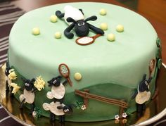 sheep cake | Shaun The Sheep Cakes For Birthdays