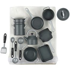 Just Like Home Nonstick Cookware 14 Piece Playset – Black at http://suliaszone.com/just-like-home-nonstick-cookware-14-piece-playset-black/