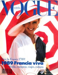 Roberta Chirko Vogue España July 1989