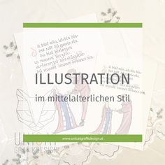 Illustration im mittelalterlichen Stil Lettering, Illustration, Map, Too Busy, Middle Ages, Illustrations, Maps, Letters, Texting