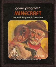 Modern Video Game Imagined As Atari Cartridges